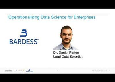 Operationalizing Data Science for the Enterprise