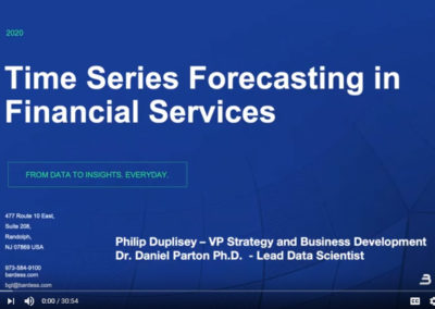 Webinar – TIM by Tangent Works and Forecasting for the Finance Sector