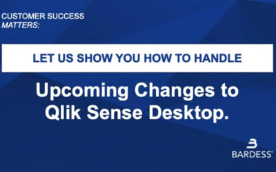 Changes Coming to Qlik Sense Desktop June 30