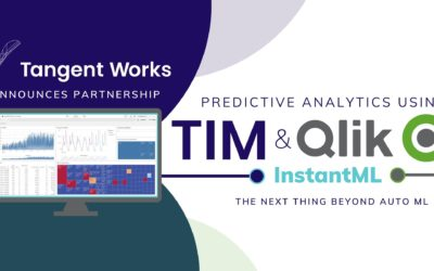 Tangent Works Announces Partnership and Integration with Qlik to Deliver Revolutionary Predictive Analytics and Forecasting Solution – InstantML